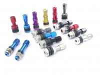 Neumático para carros y válvula para montura de aleación